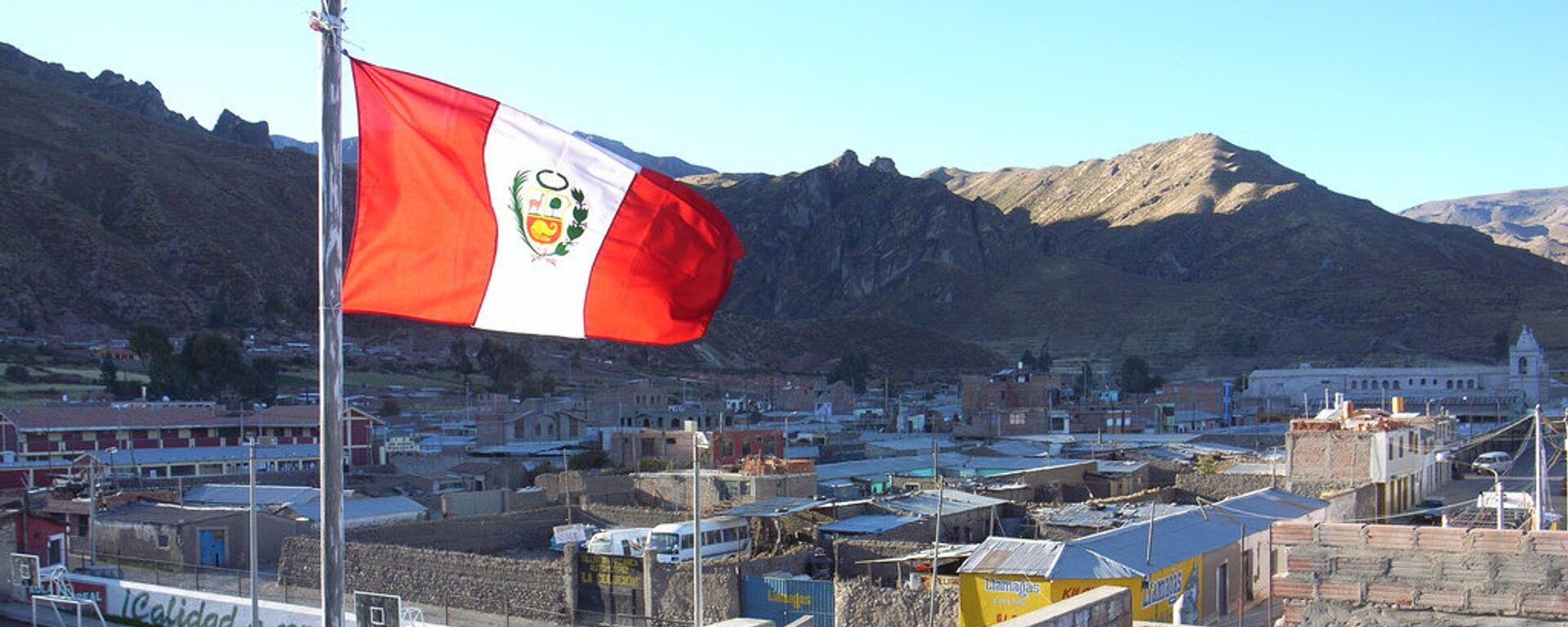 Bandera de Perú - Sputnik Mundo, 1920, 04.06.2021