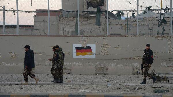 Bandera de Alemania en Afganistán - Sputnik Mundo