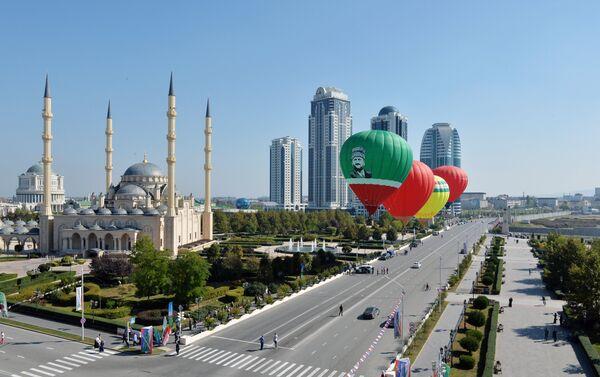 La ciudad de Grozni de hoy - Sputnik Mundo