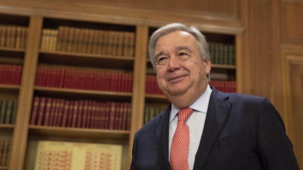 Antonio Guterres - Sputnik Mundo