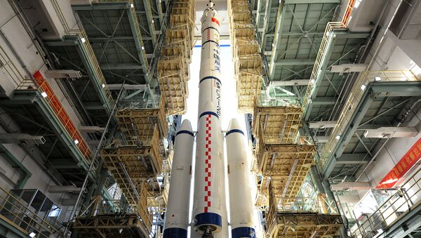 La nave espacial china Shenzhou-11 - Sputnik Mundo