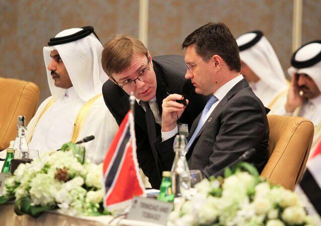 La reunión ministerial en Doha, Catar