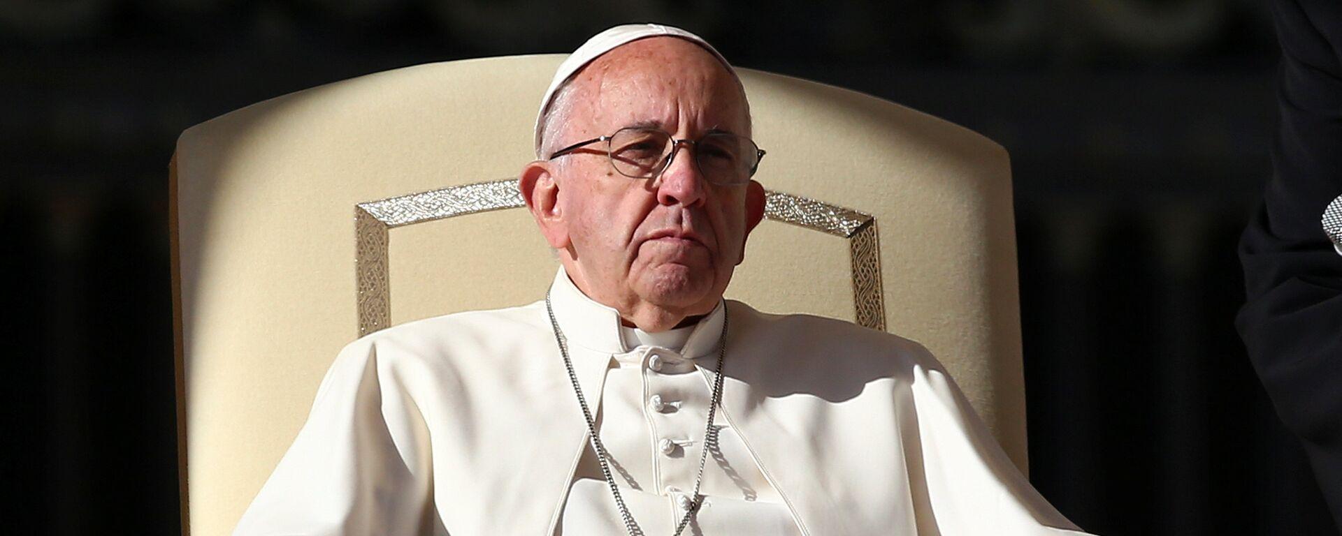 El papa Francisco - Sputnik Mundo, 1920, 01.03.2021