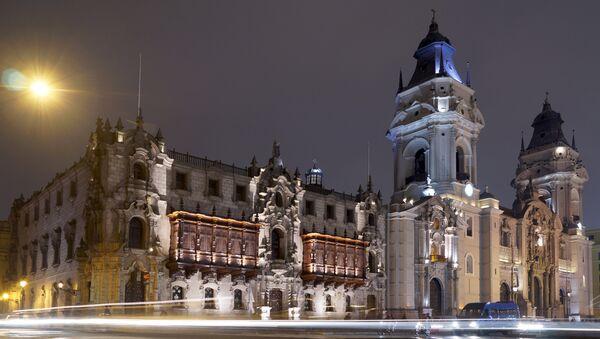 La catedral de Lima, Perú (archivo) - Sputnik Mundo