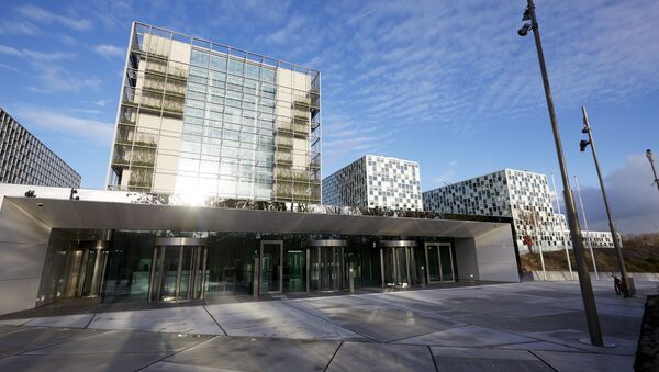 This file photo taken on November 23, 2015 shows the building of the International Criminal Court (ICC) in The Hague, The Netherlands - Sputnik Mundo