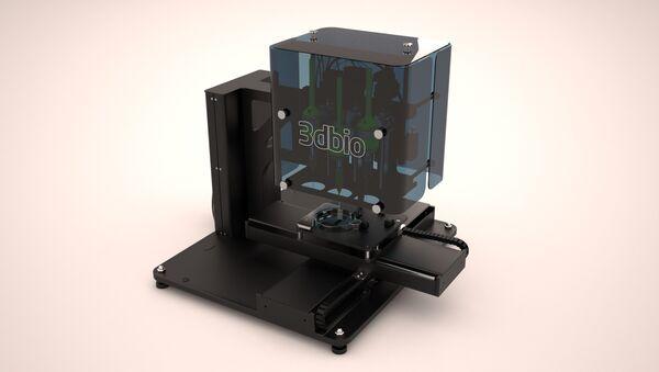 La bioimpresora 3D rusa, FABION - Sputnik Mundo