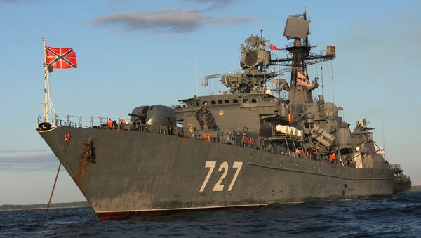 El buque patrullero Yaroslav Mudry - Sputnik Mundo