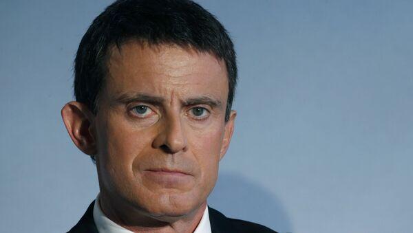 Manuel Valls, político francés - Sputnik Mundo