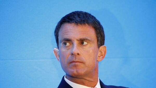 Primer ministro francés Manuel Valls - Sputnik Mundo
