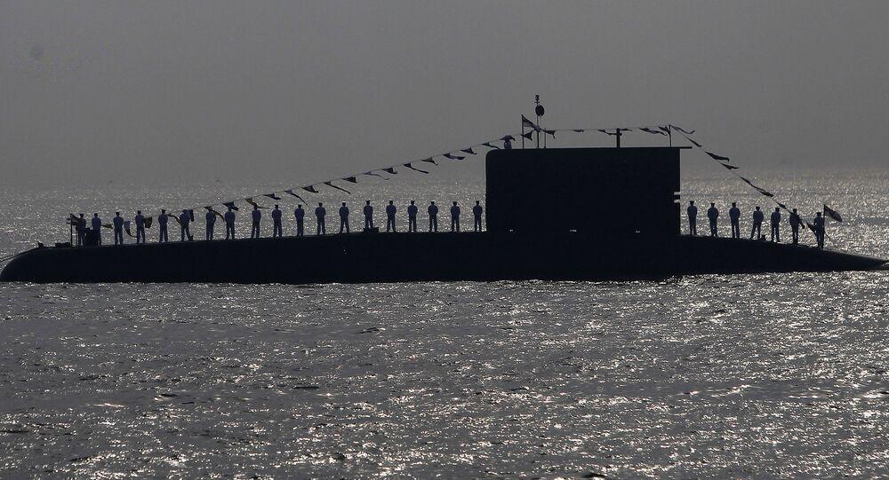Un submarino de la Armada india (archivo)