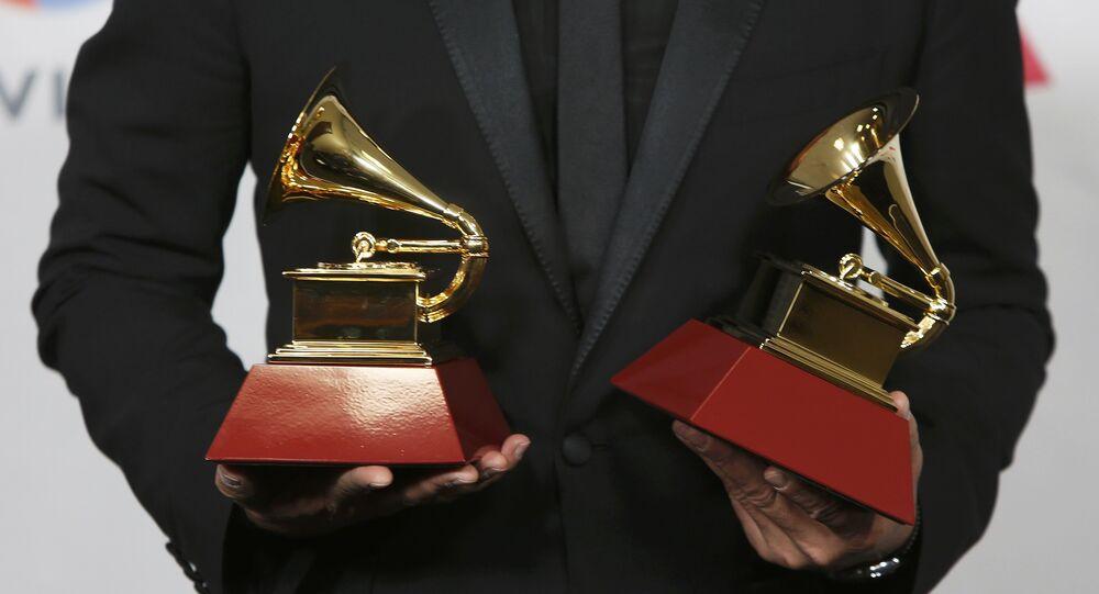Carlos Vives durante el XVII Grammy Latino en Las Vegas