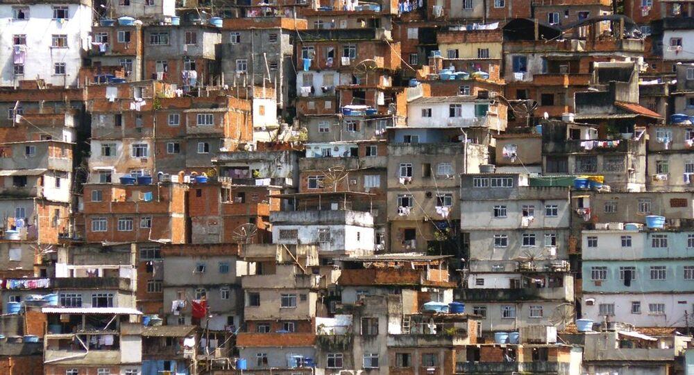 Favela brasileña (archivo)