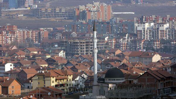 Pristina, capital de Kosovo - Sputnik Mundo