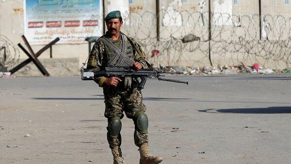 Soldado del Ejército de Afganistán (archivo) - Sputnik Mundo