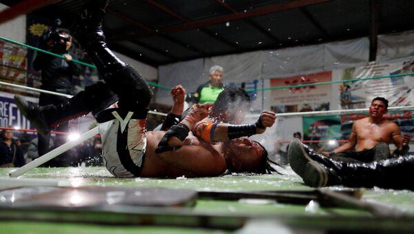 Lucha extrema mexicana - Sputnik Mundo