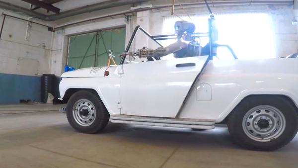 Las nuevas aventuras del robot Fedor - Sputnik Mundo