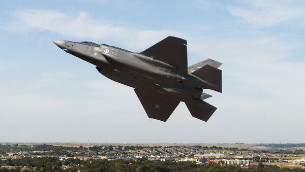 Avión de caza estadounidense F-35 - Sputnik Mundo