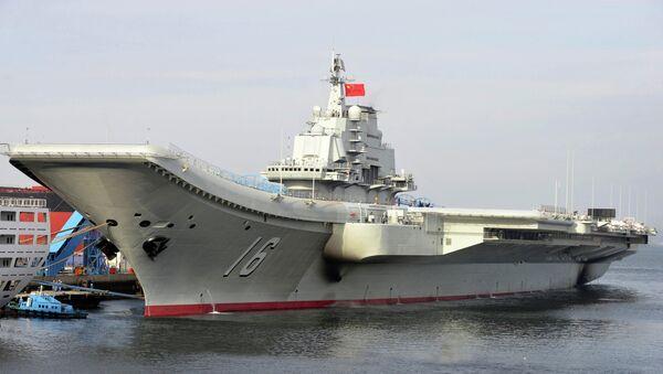 El portaviones chino Liaoning (imagen referencial) - Sputnik Mundo