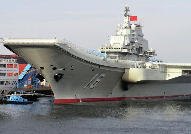 El portaviones chino Liaoning (imagen referencial)