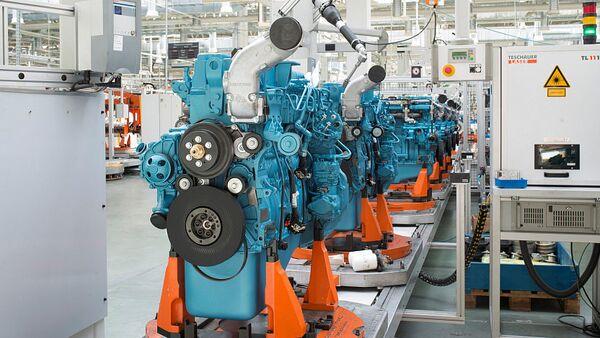 La producción de motores - Sputnik Mundo