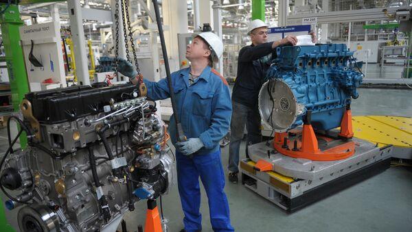 La Planta de Motores de Yaroslavl - Sputnik Mundo