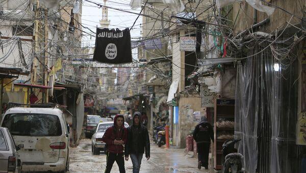 Bandera de Daesh (Archivo) - Sputnik Mundo