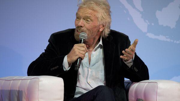 Sir Richard Branson, director ejecutivo del conglomerado multinacional Virgin Group - Sputnik Mundo