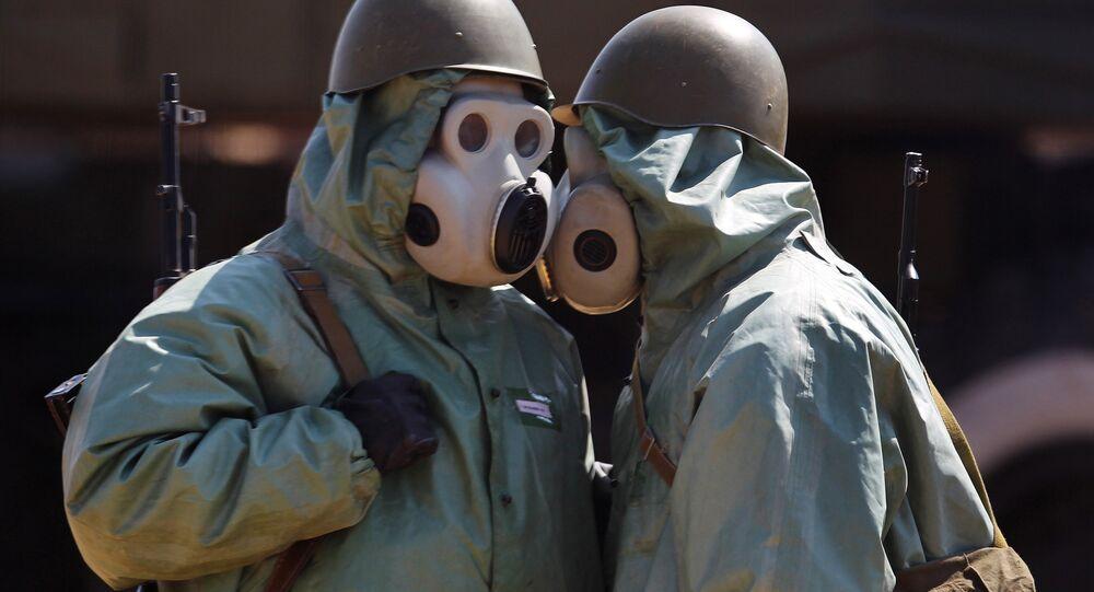 Armas químicas (imagen referencial)