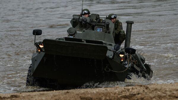 Carro de combate BTR-82A - Sputnik Mundo