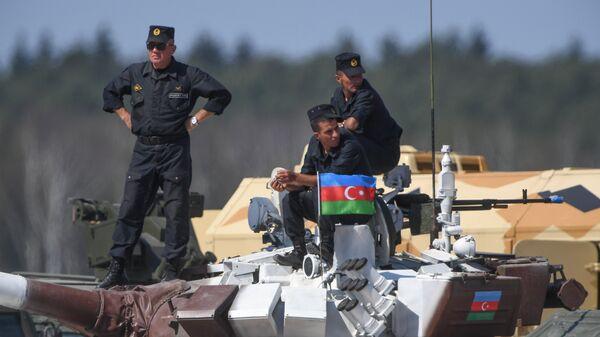 Militares de Azerbaiyán - Sputnik Mundo