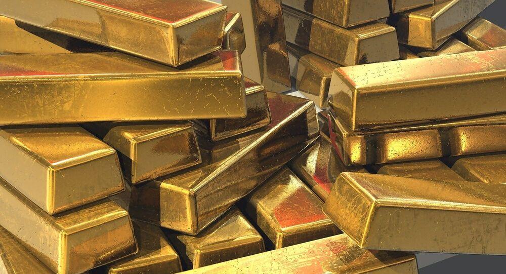 Lingotes de oro (archivo)