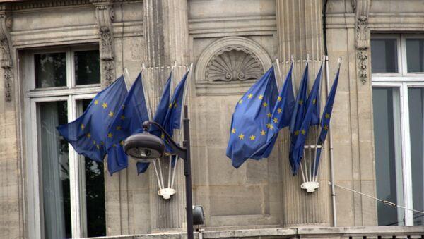 The EU flags - Sputnik Mundo