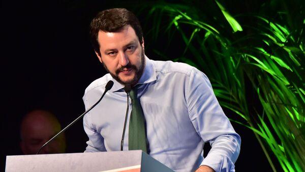 Secretario de Lega Nord Matteo Salvini - Sputnik Mundo