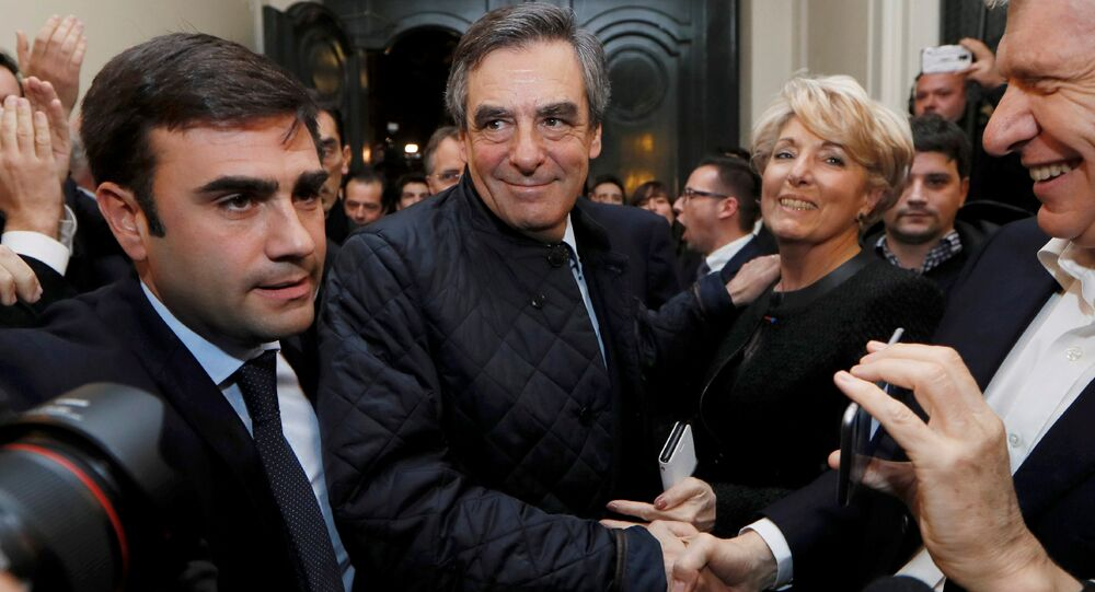 Francois Fillon, político francés, miembro del partido Los Republicanos
