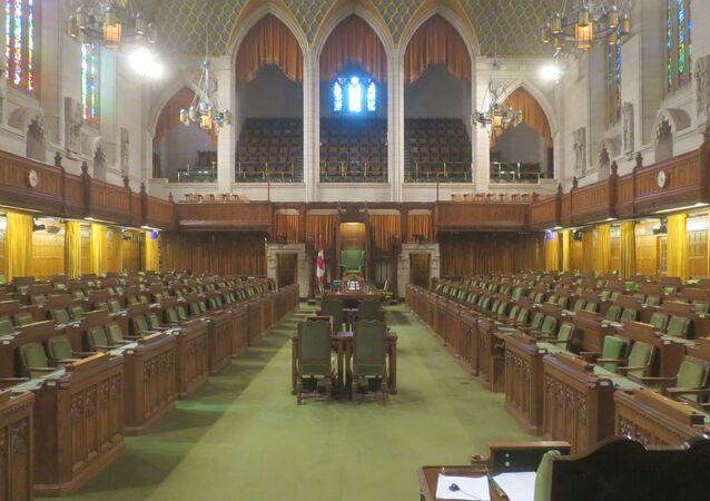 El Parlamento de Canadá