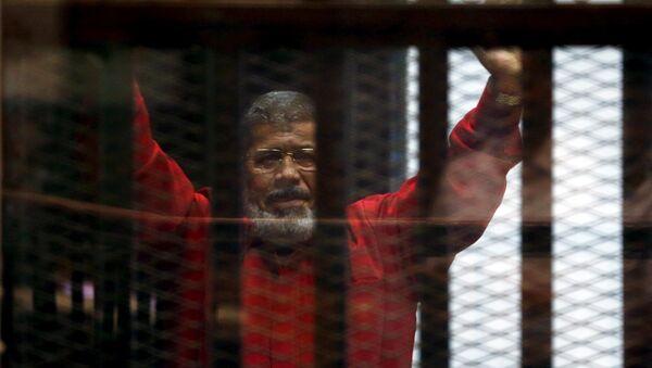 Former Egyptian President Mohamed Mursi (archivo) - Sputnik Mundo