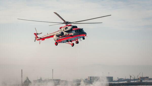 Mi-8AMTSh-VA, uno de los helicópteros producidos por la planta - Sputnik Mundo