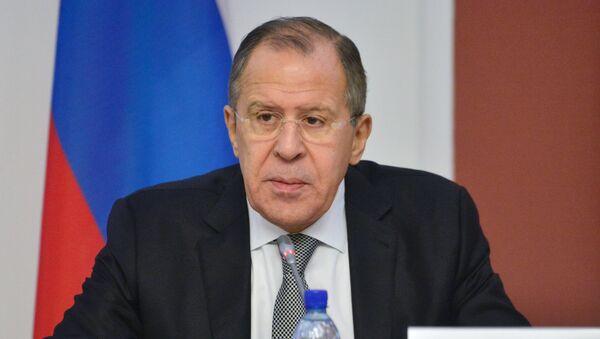Serguéi Lavrov, el ministro ruso de Exteriores - Sputnik Mundo