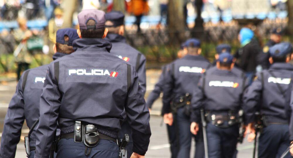 Agentes de la Policía Nacional en Madrid (archivo)