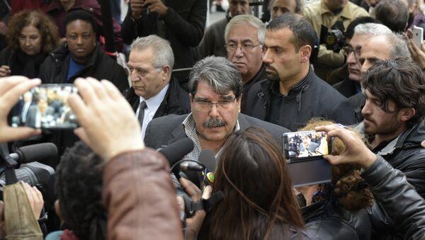 Salih Muslim, el líder del Partido kurdo de la Unión Democrática de Siria - Sputnik Mundo