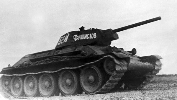 Tanque soviético T-34 - Sputnik Mundo