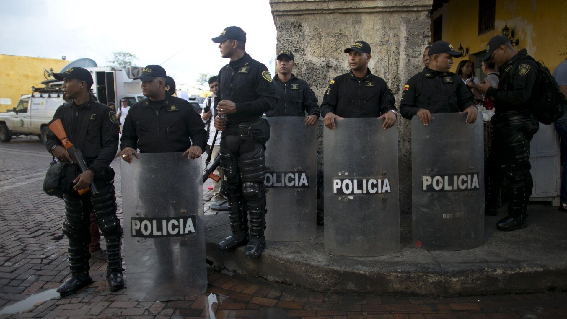 Policía colombiana - Sputnik Mundo, 1920, 12.08.2021