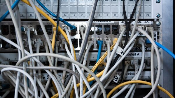 Cables (imagen referencial) - Sputnik Mundo