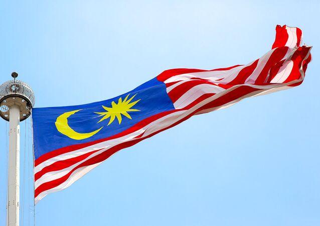 La bandera de Malasia