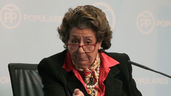 Rita Barberá, la política española - Sputnik Mundo