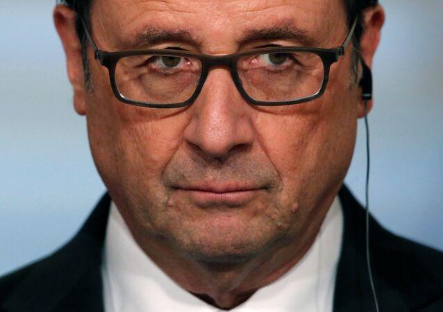 Francois Hollande, expresidente de Francia