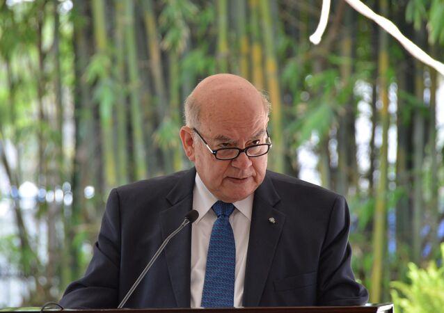 José Miguel Insulza, el agente chileno ante la Corte Internacional de Justicia