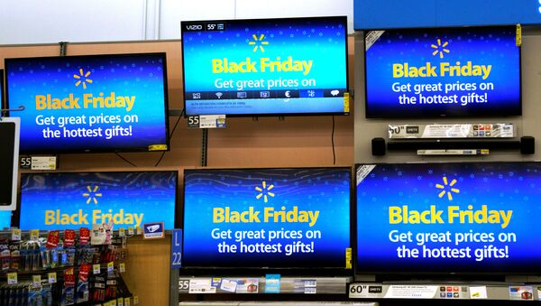 Black friday en EEUU - Sputnik Mundo