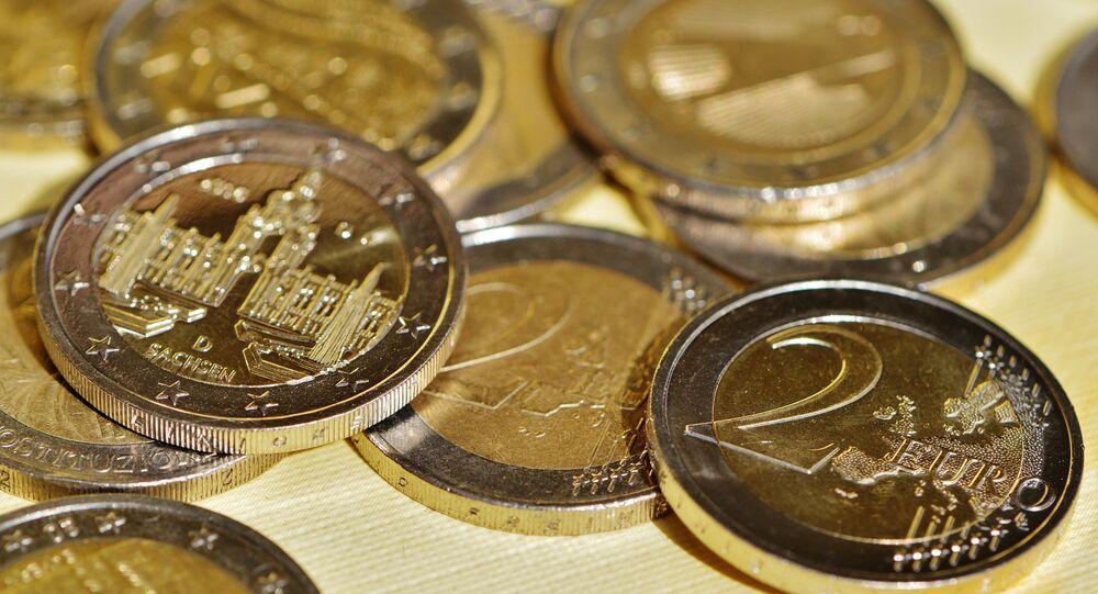Monedas de dos euros (imagen referencial)
