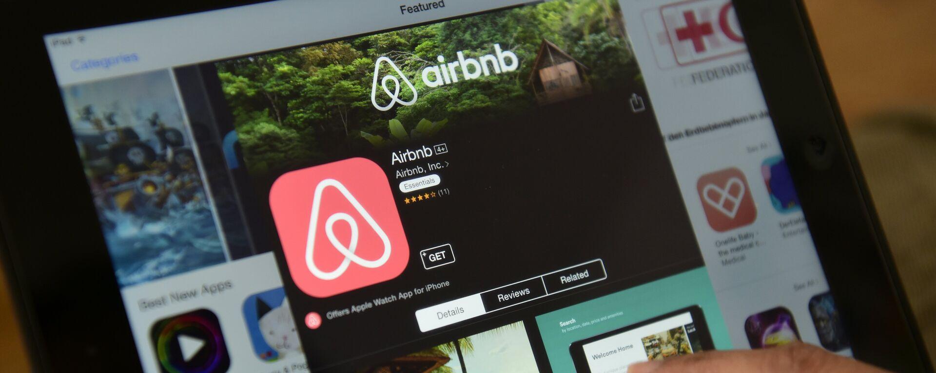 La aplicación de Airbnb - Sputnik Mundo, 1920, 31.03.2020